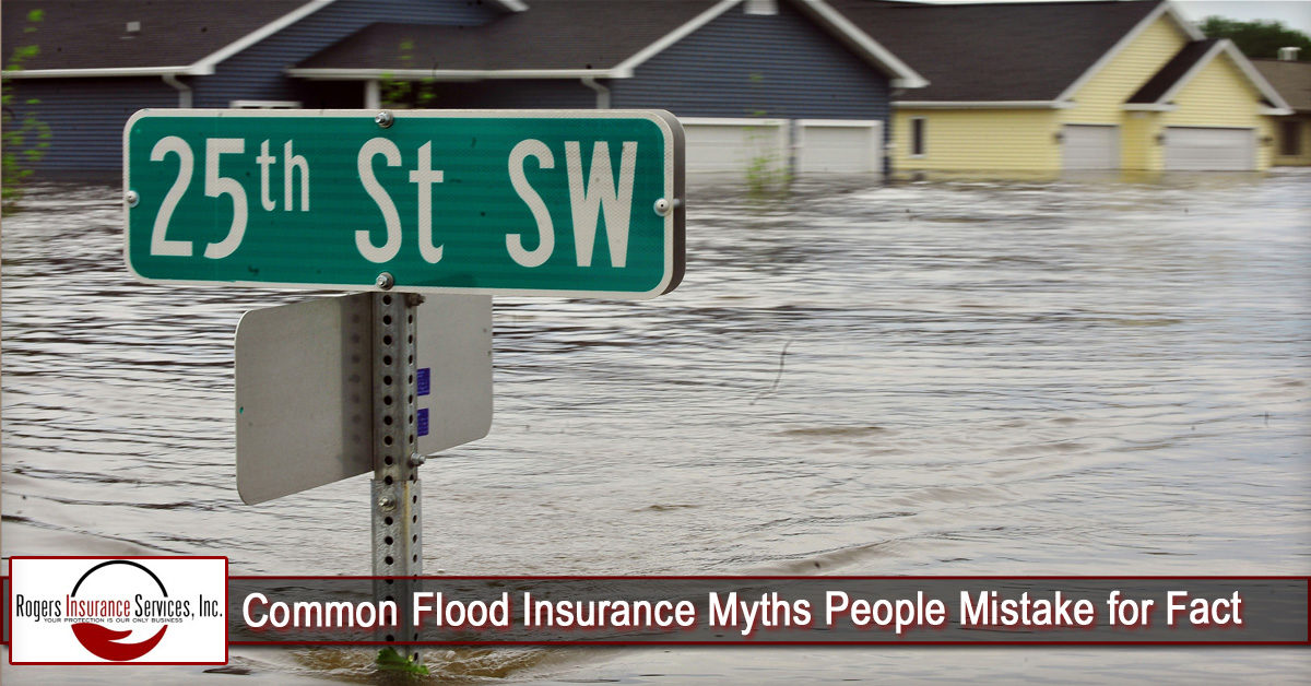 Common Flood Insurance Myths People Mistake for Fact